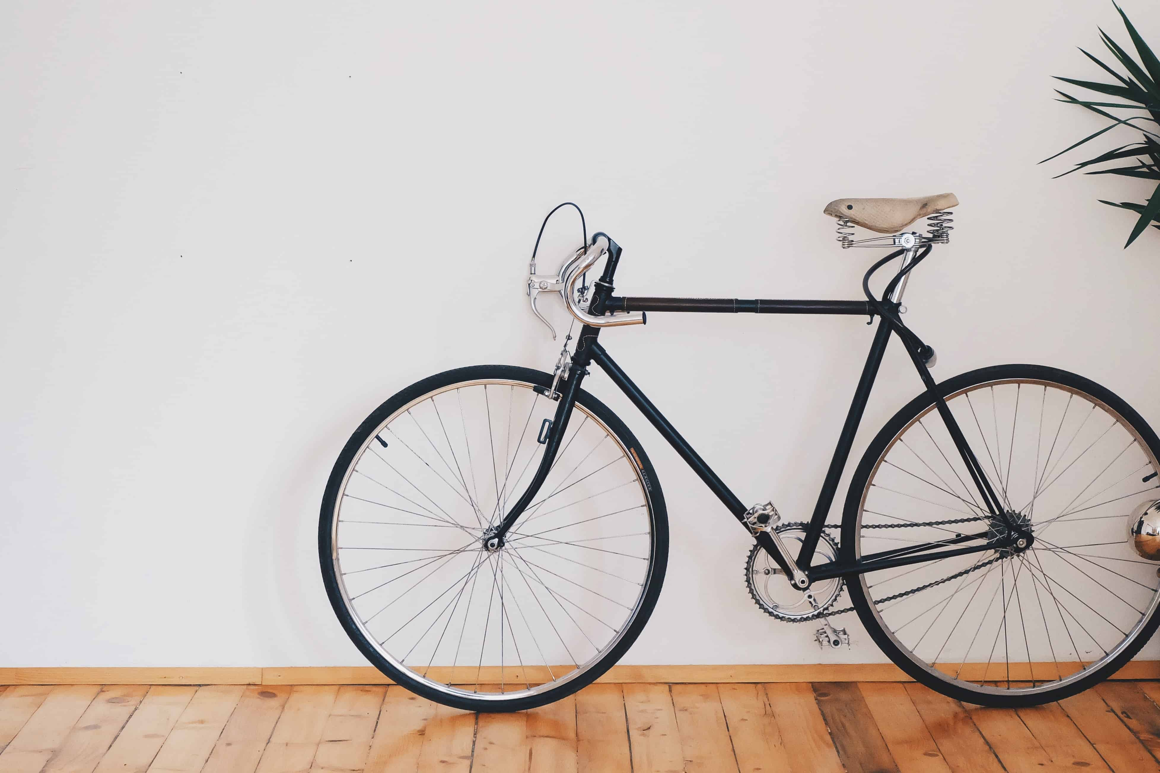 Activity Bicycle wooden floors