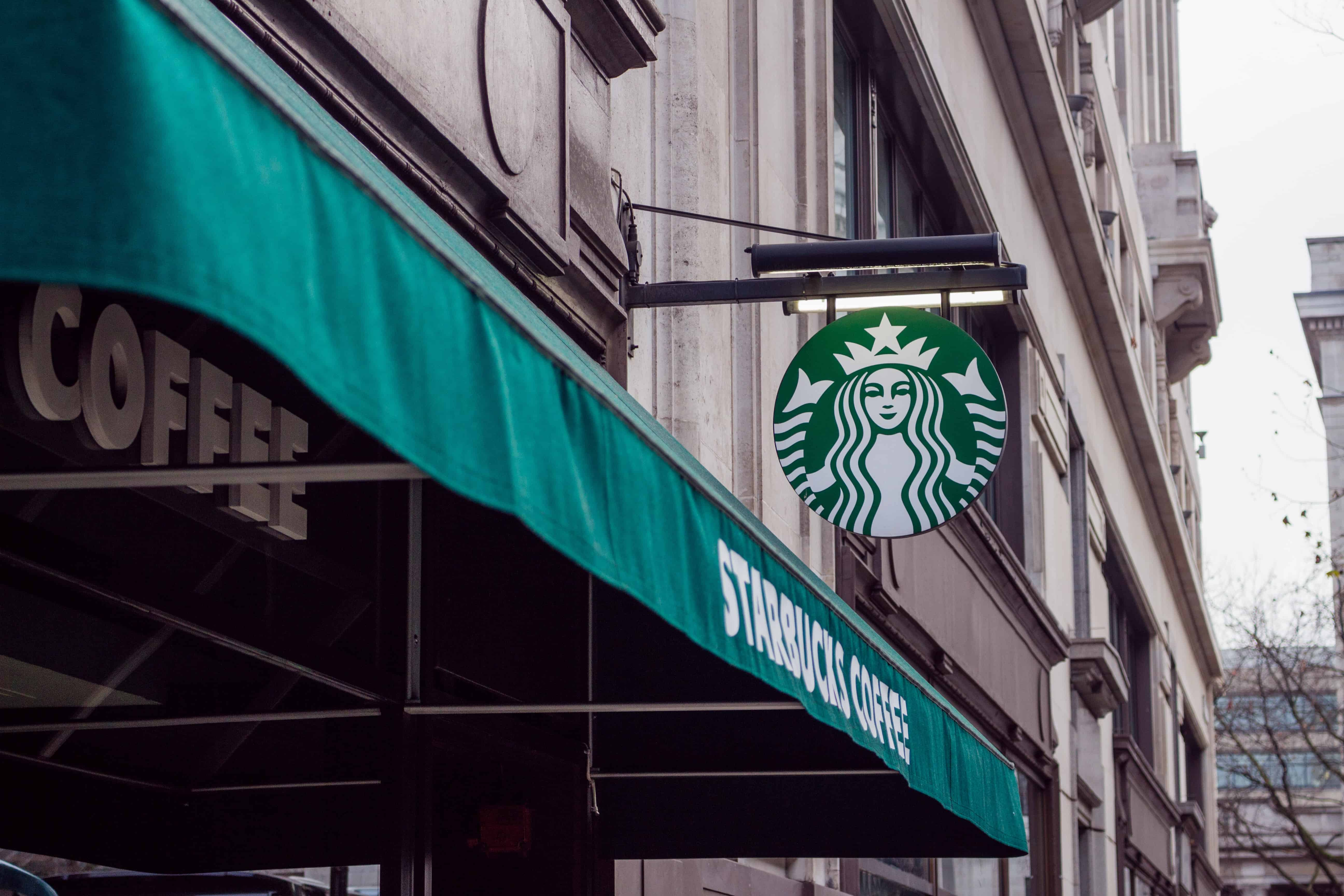 Starbucks shop front