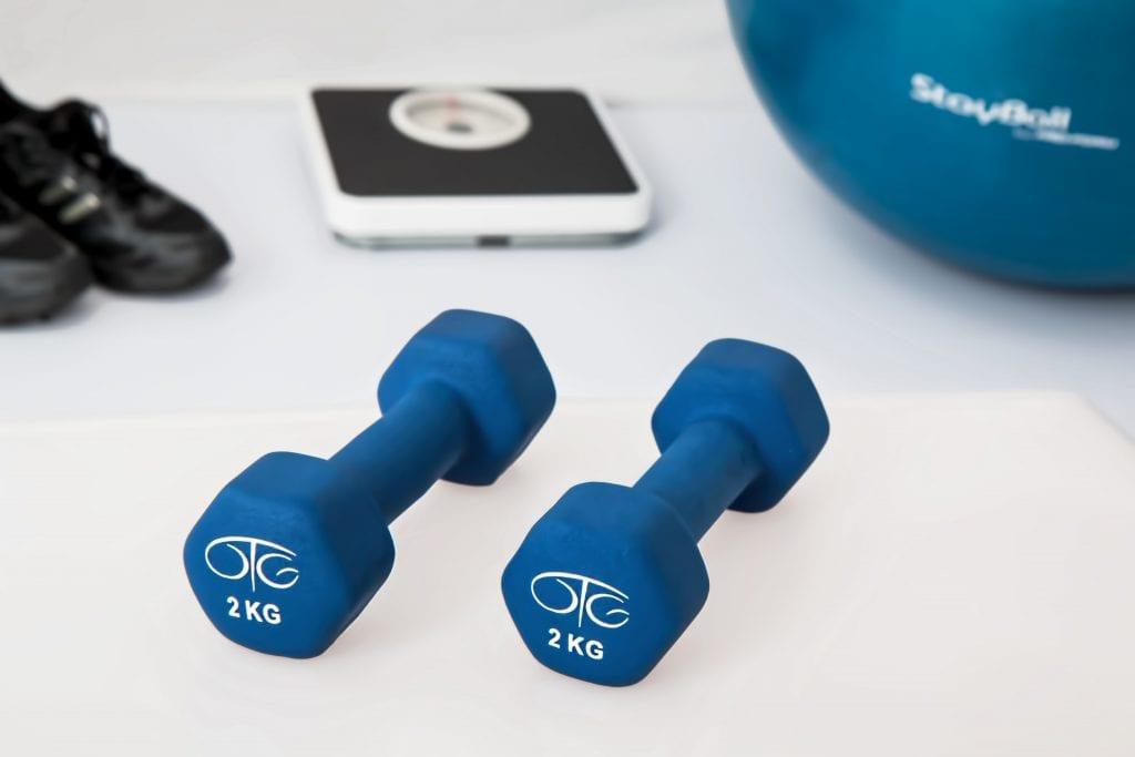 (credit pixabay) exercise equipment