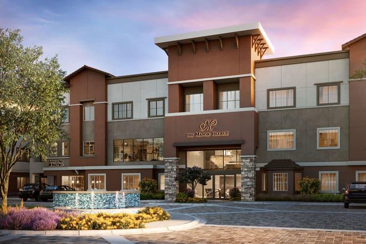 Steelblue senior living facility The Manor Village at Desert Ridge
