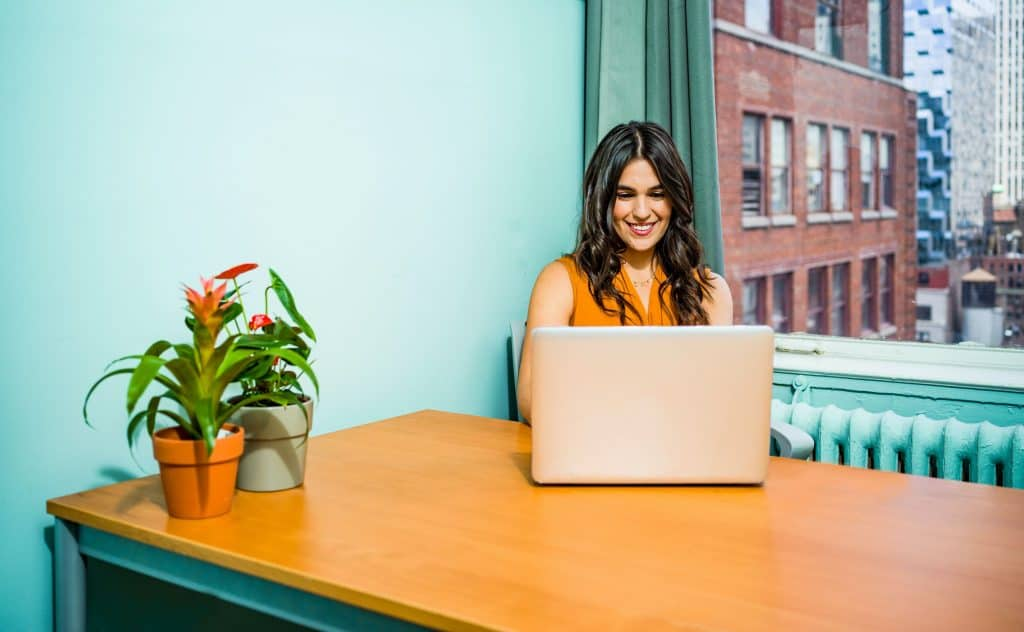(credit jopwell) woman on laptop