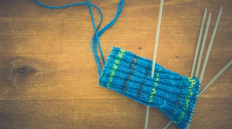 (Credit Markus Spiske) Knitting Needles and Blue Yarn