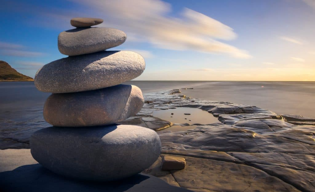 (credit Pixabay) rocks mindfulness