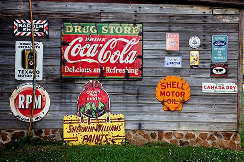 credit pixabay signs on building side