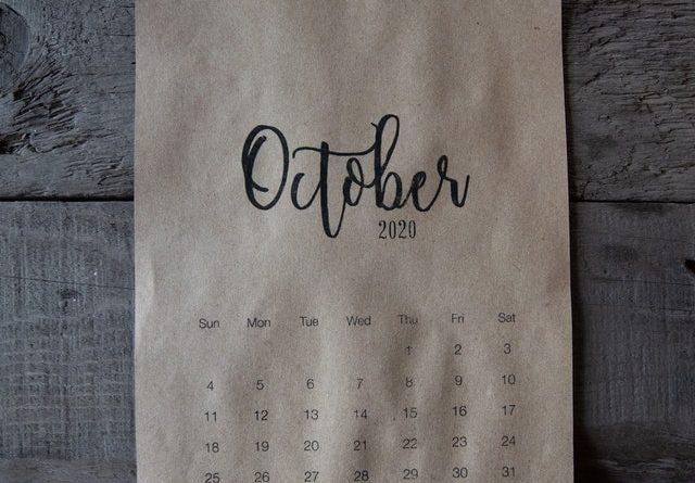credit gabby k October calendar