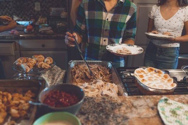 (credit Craig Adderley) Thanksgiving Dinner